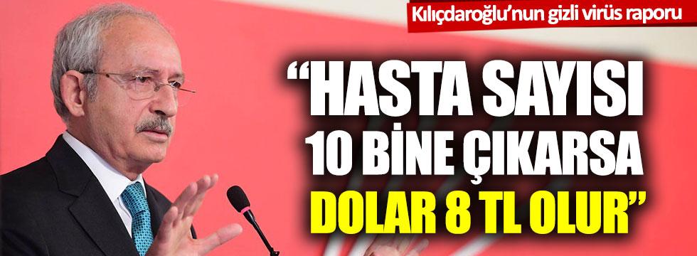 CHP lideri Kılıçdaroğlu'ndan olası 3 korona virüsle ilgili kriz senaryosu!