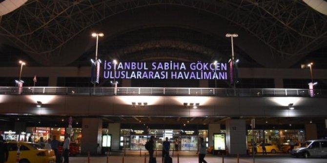 Sabiha Gökçen'de tüm uçuşlar durduruldu!