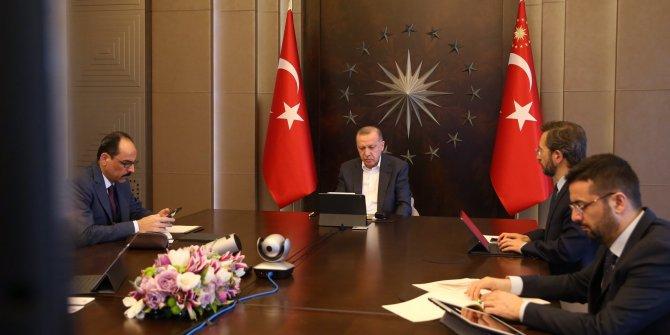 Cumhurbaşkanı Erdoğan MİT Başkanı ile görüştü