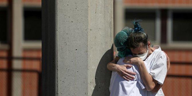 İspanya'da korkunç tablo: 24 saatte 838 can kaybı