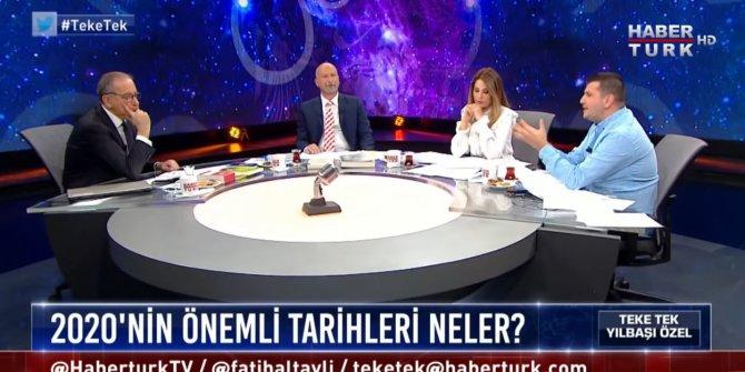 Habertürk'te Fatih Altaylı'ya 2020 yılını anlatan Dinçer Güner gündem oldu