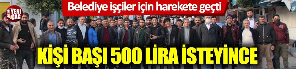 Memleketlerine dönmek isteyen işçilerden 500 TL otobüs parası istediler