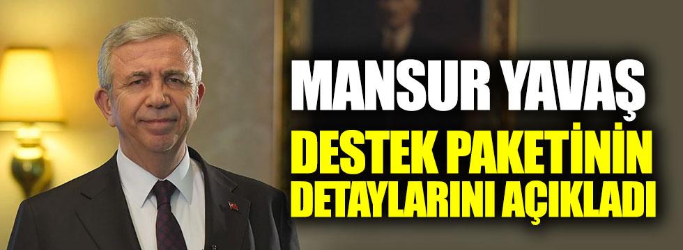 """Mansur Yavaş'ın başlattığı '6 Milyon Tek Yürek"""" kampanyasının detayları belli oldu"""