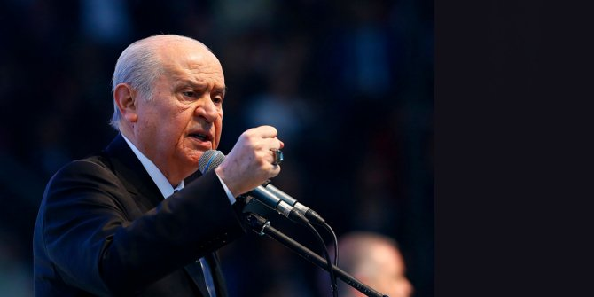 MHP Genel Başkanı Bahçeli'den ilginç korona tespiti