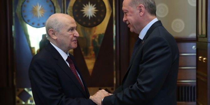 MHP Genel Başkanı Bahçeli, Erdoğan'ın çağrısına uydu