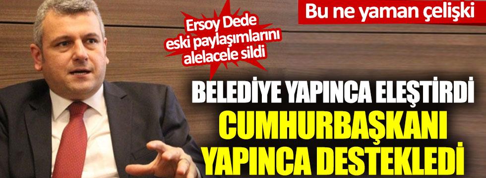 Gazeteci Ersoy Dede'nin 'bağış' çelişkisi