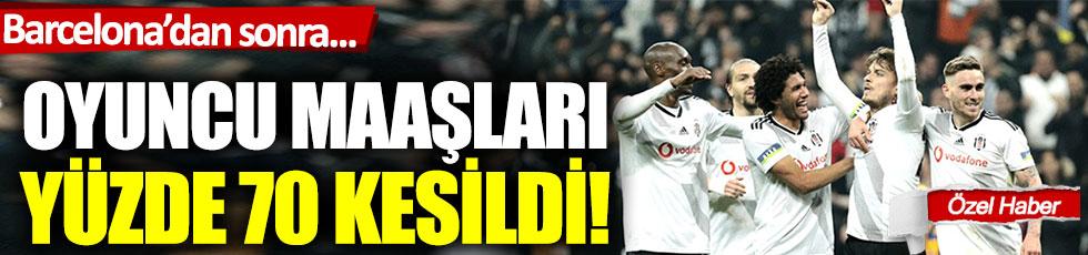 Barcelona'dan sonra Beşiktaş… Oyuncu maaşları yüzde 70 kesildi