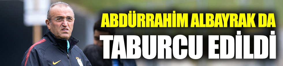 Galatasaray yöneticisi Abdurrahim Albayrak taburcu edildi