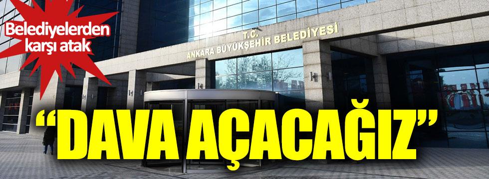 Ankara Büyükşehir Belediyesi bağış hesaplarına bloke konulmasını mahkemeye taşıyacak