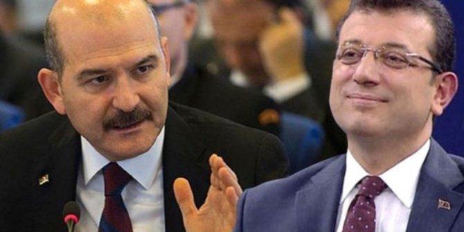 Ekrem İmamoğlu'ndan Süleyman Soylu'ya kritik telefon!