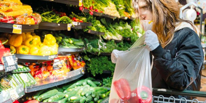 Uzmanlar uyardı: Gıda alışverişinde virüsten nasıl korunuruz?
