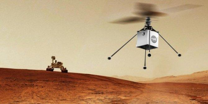 NASA'nın Mars helikopteri son kez test edildi