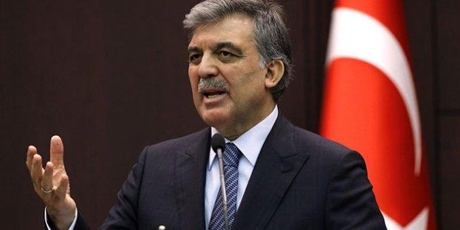"""Abdullah Gül: """"İnfaz indiriminden gazeteciler de yararlanmalı"""""""