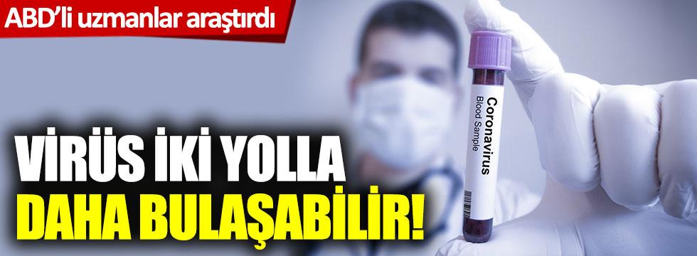 Korona virüs nefes yoluyla geçer mi? ABD'li uzmanlar araştırdı...