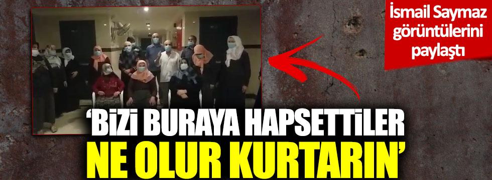 İsmail Saymaz Umre'den dönemeyen Türklerin videosunu paylaştı
