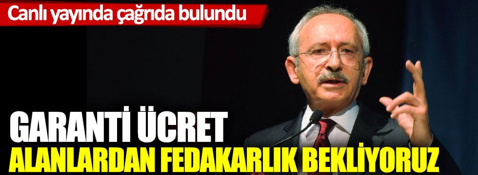 Kemal Kılıçdaroğlu, canlı yayında konuştu
