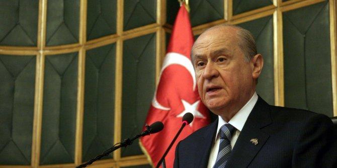 Devlet Bahçeli: Alpraslan Türkeş'i anma törenleri virüs nedeniyle iptal edildi