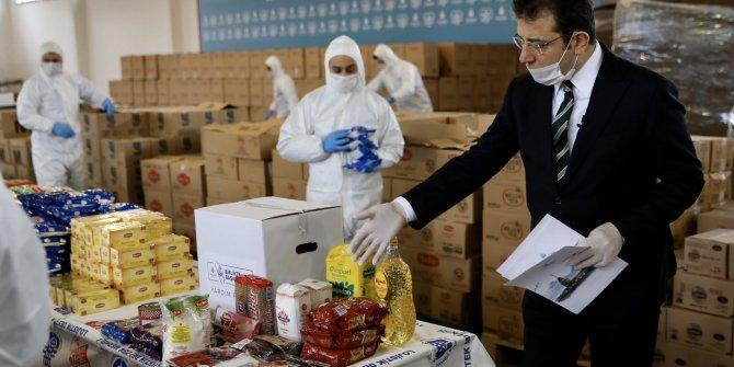 İBB, 500 bin aileye yardım kolisi dağıtacak