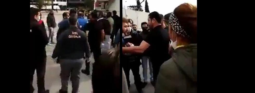 İzmir'de Akar Tekstil'de korona virüs için çalışmak istemeyen işçilere sopayla saldırdılar