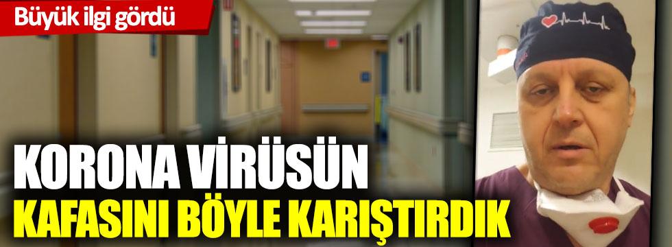Korona virüs kafa karıştırma taktikleri... Sosyal medyayı sallayan video
