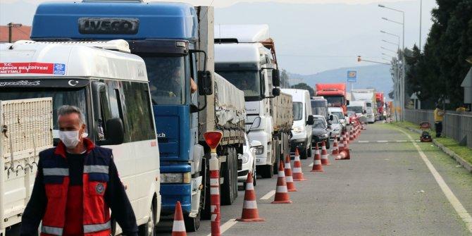 Türkiye'de şehirler kapandı