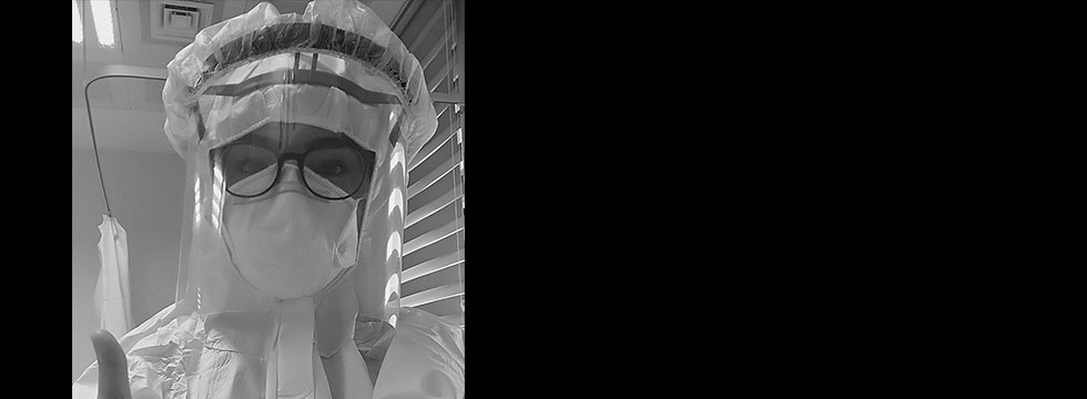 Hemşire Bahar Ateş korona virüsle mücadelesini böyle paylaştı