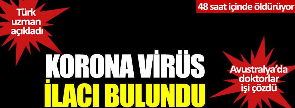 Korona virüs ilacı bulundu