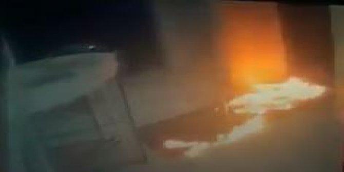 İstanbul'da özel bir hastane ilginç yangın