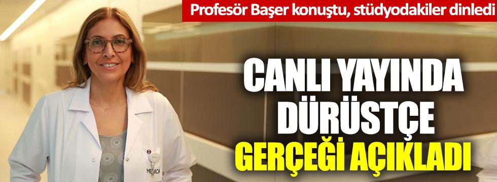 """Prof. Bengi Başer: """"Korona salgınında insan seçmek zorunda kalmak istemiyoruz"""""""