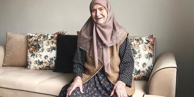 Sakaryalı Resmiye Işık, 86 yaşında korona virüsü yendi