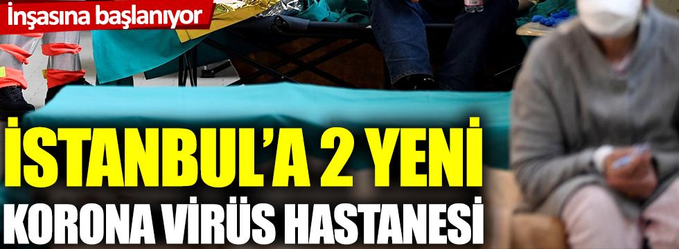 Rönesans Holding, İstanbul'a 2 yeni korona virüs sahra hastanesi inşa edecek