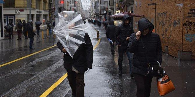 Meteorolojiden sağanak ve fırtına uyarıları
