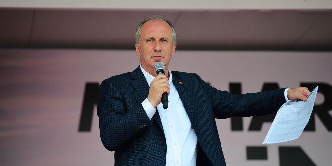 CHP'li Muharrem İnce'den Cumhurbaşkanı Erdoğan'a uçak eleştirisi