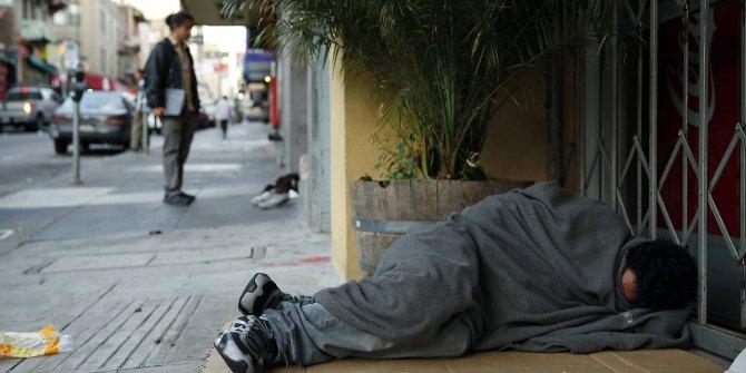 Korona virüse karşı evsizlere konaklama projesi