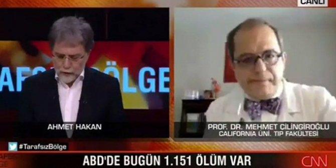 Prof. Dr. Mehmet Çilingiroğlu, canlı yayında Trump'a hakaret etti