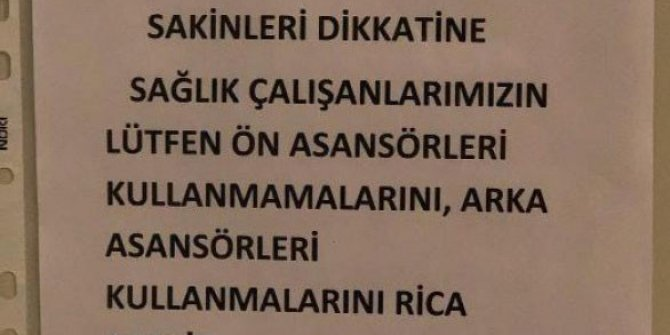 Sağlık çalışanları için skandal mesaj: Türkiye alkışladı onlar ise dışladı