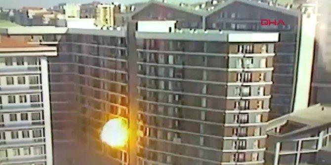 Esenyurt'ta bir binada patlama!