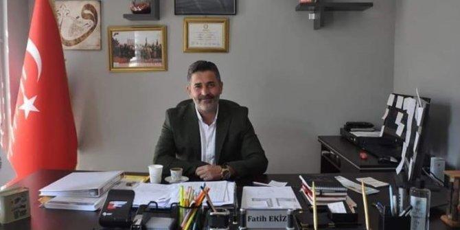 Kartal Hürriyet Mahallesi Muhtarı Fatih Ekiz, halktan helallik istedi