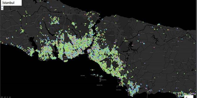 İşte İstanbul'un virüs haritası
