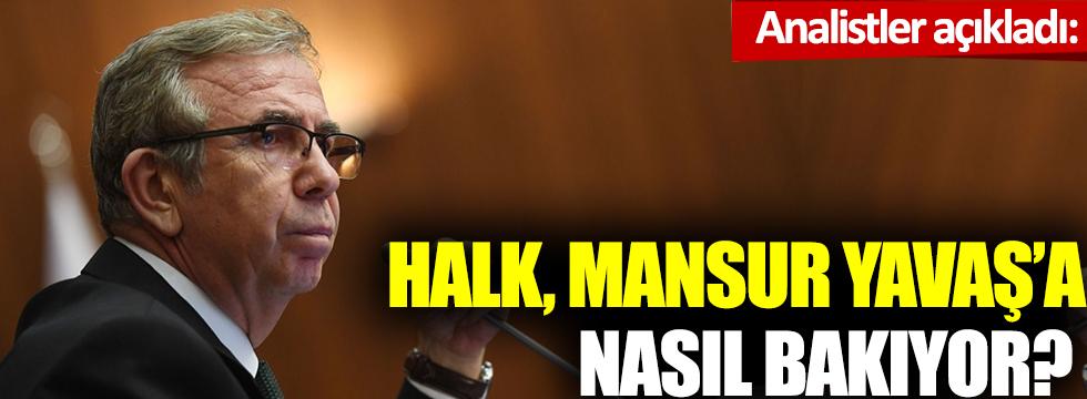 Analistler açıkladı: Halk, Mansur Yavaş'a nasıl bakıyor