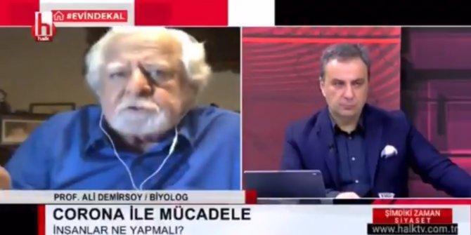 Prof. Dr. Ali Demirsoy'dan canlı yayında şok sözler… Tepki topladı