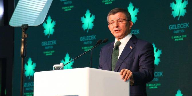 Gelecek Partisi Genel Başkanı Davutoğlu'ndan Tekâlif-i Milliye eleştirisi