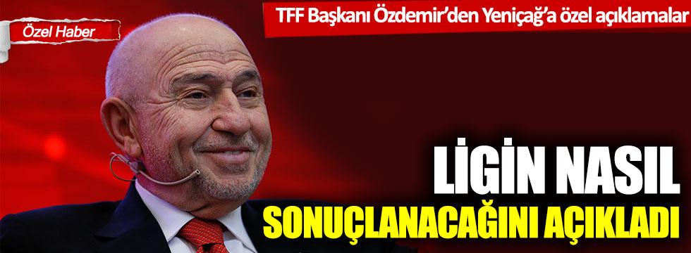 """Nihat Özdemir: """"TFF'nin gündeminde erken tescil yok"""""""