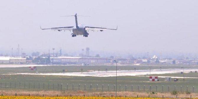 Üç İsrail uçağı Türkiye'ye inip tıbbi malzeme aldı