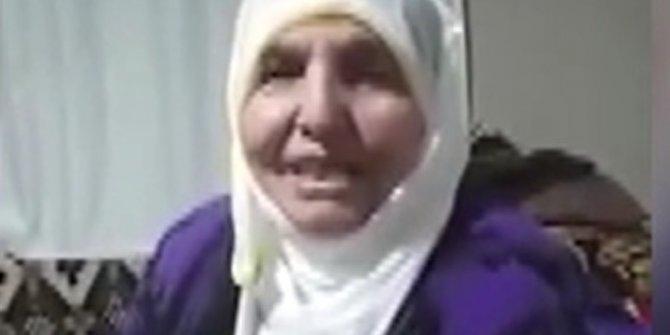 """Karantinaya alınan köydeki yaşlı kadından """"korona virüs ağıdı"""""""