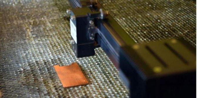 Metal yüzeyleri yeni bir lazer teknikle bakteri katili haline gelecek