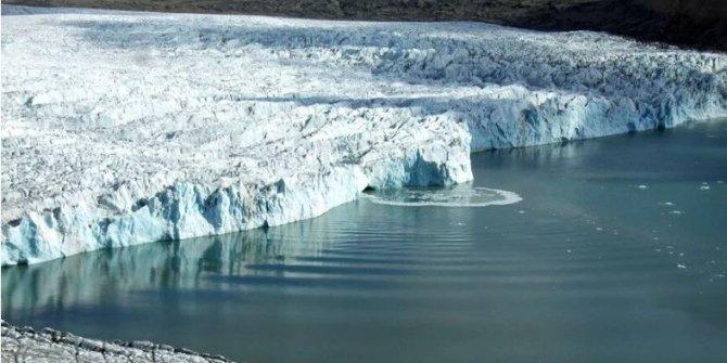 Bilim insanları, mikrofonlarla arktik buzullarını dinliyorlar