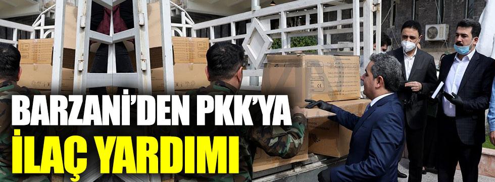Barzani'den PKK'ya korona virüs yardımı