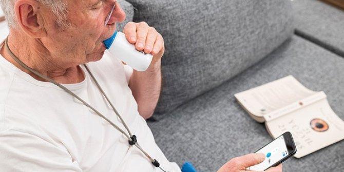 'Evden akciğer fonksiyon testi'ne imkan veren teknoloji!