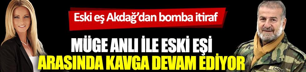 Müge Anlı ile eski eş Burhan Akdağ arasındaki kavga devam ediyor, eski eş Akdağ'dan bomba itiraf